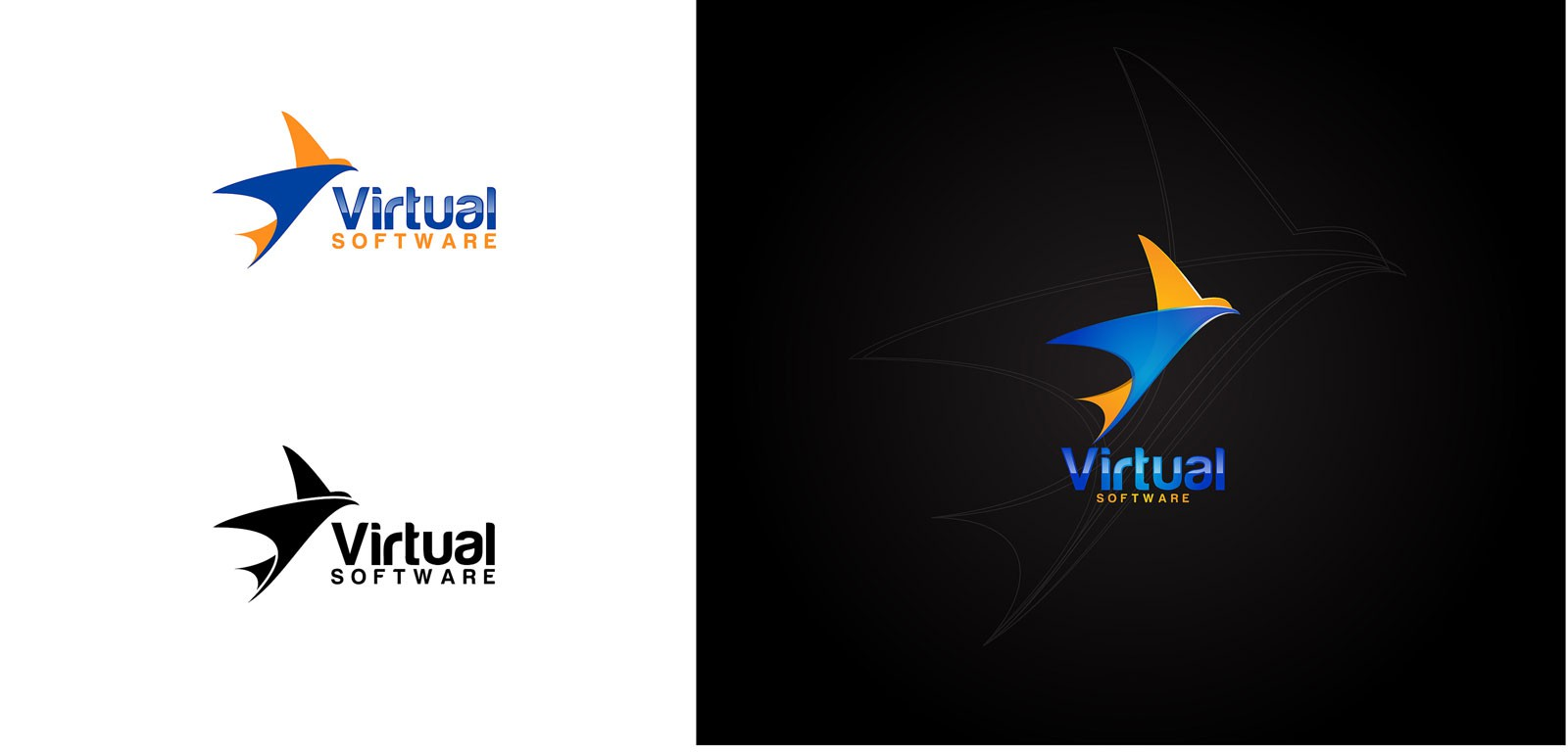 Create the next logo for Virtual Software