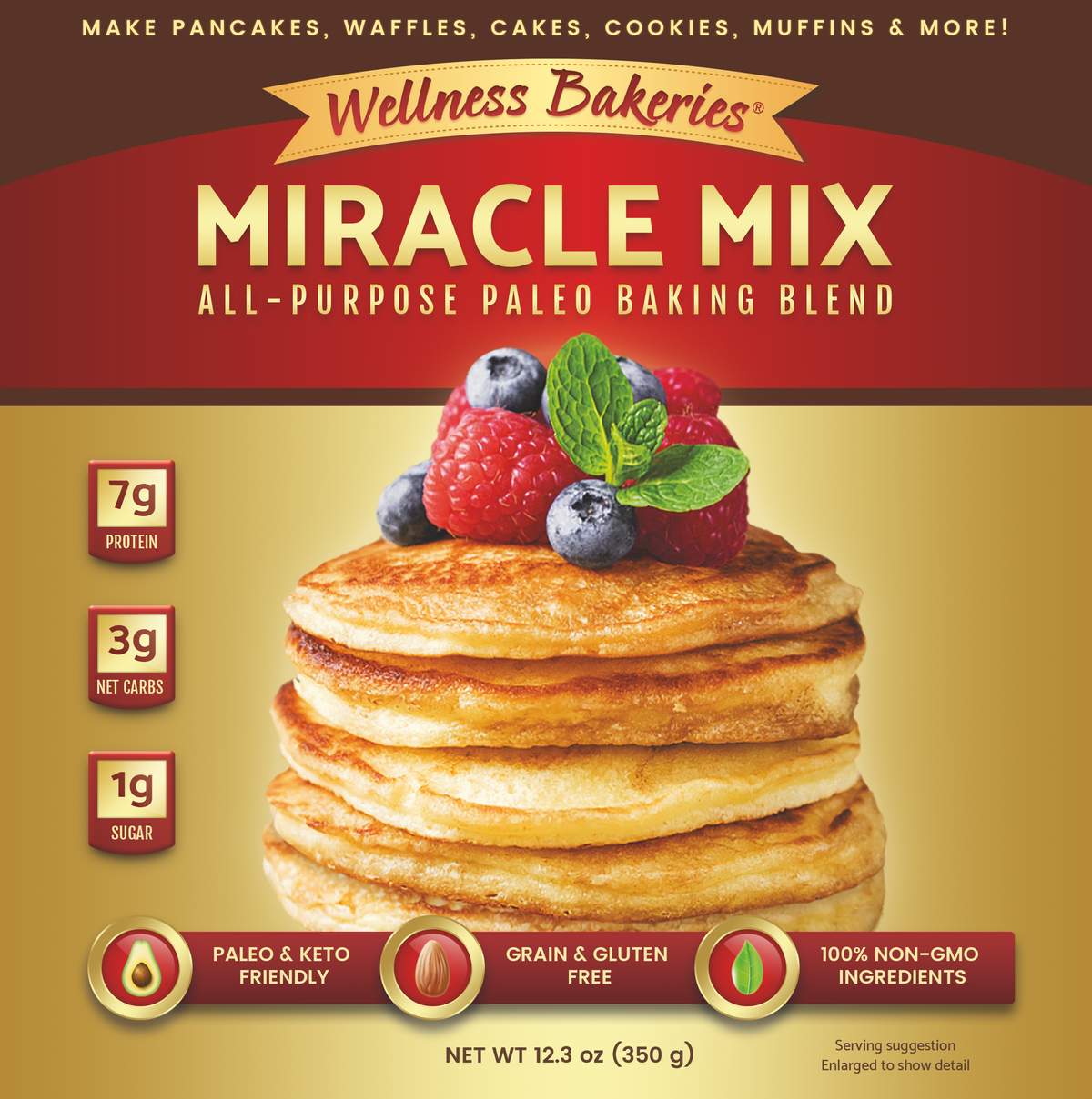 Improve & Finalize Wellness Bakeries Miracle Mix Package