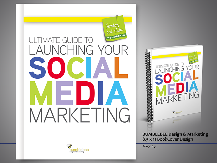 Create Workbook Cover for Social Media Guide