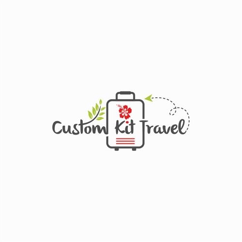 Logo design for Custom Kit Travel