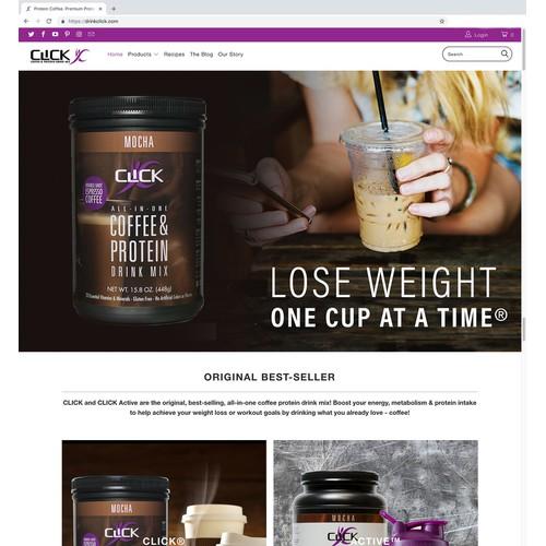 CLICK Website Hero Image