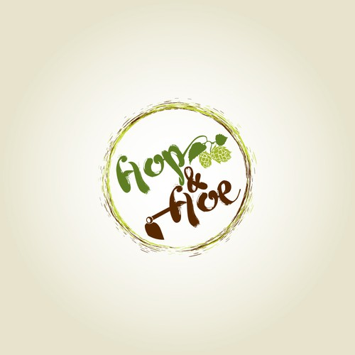 Hop and Hoe Logo Design