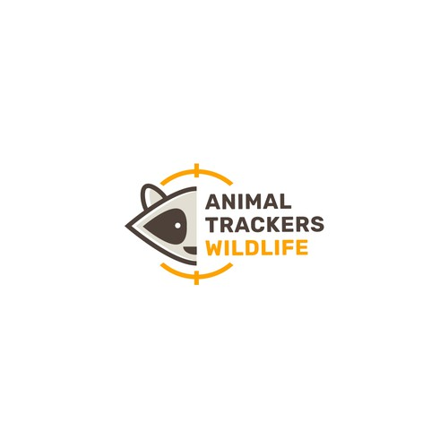 Animal Trackers Wildlife logo concept #2
