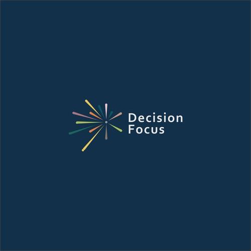 Decision Focus Logo Design