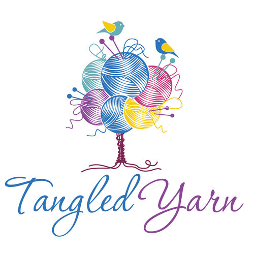 Tangled Yarn - Cute Tree Logo