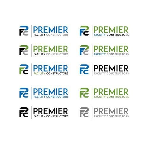 Initial Logo Concept for Premier FC