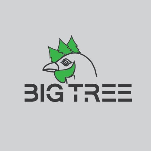 Logo concept for Big Tree