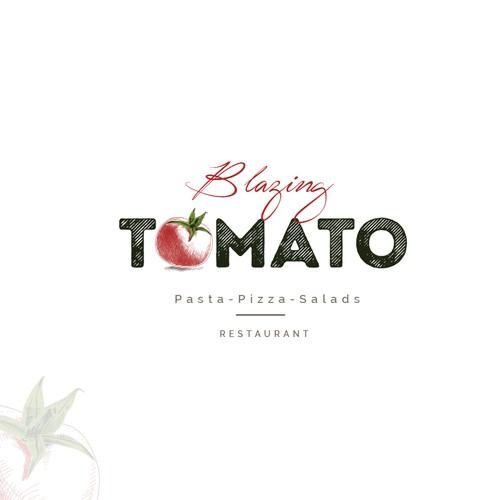 Logo for a pasta&pizza restaurant
