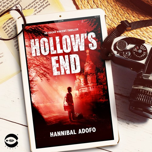 "eBook cover for ""Hollow's End"" by Hannibal Adofo"