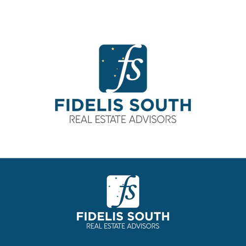 bold logo concept for fidelis south