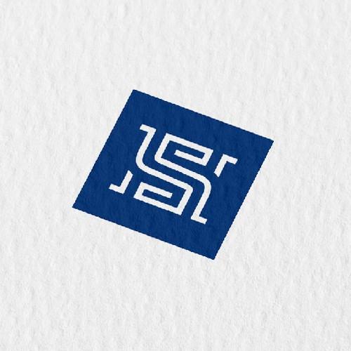 Classic initials logo