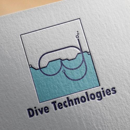 Dive Technologies Logo Mock Up