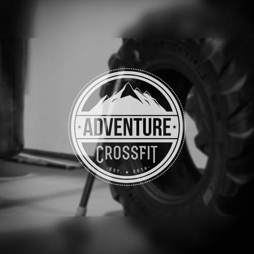 Logo design for crossfit company