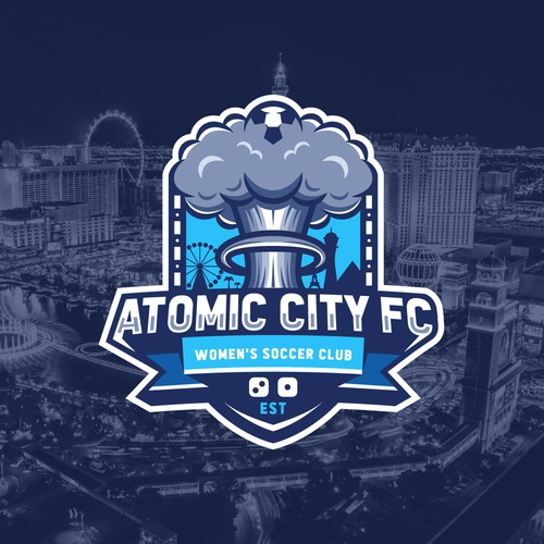Logo concept for women's soccer team
