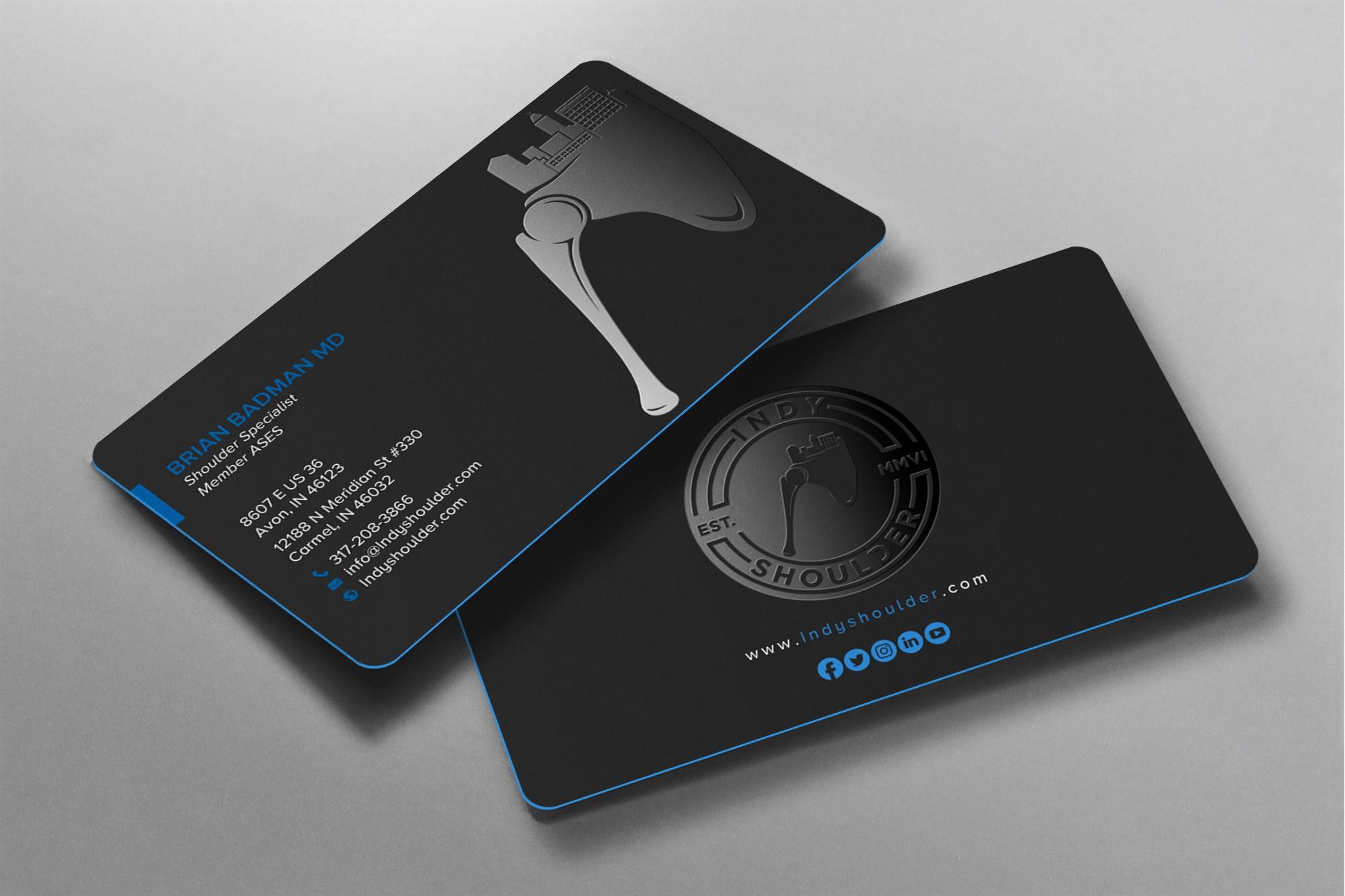 Indyshoulder Business Card