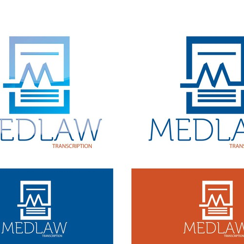 Create a professional stunning logo for a start up transcription business