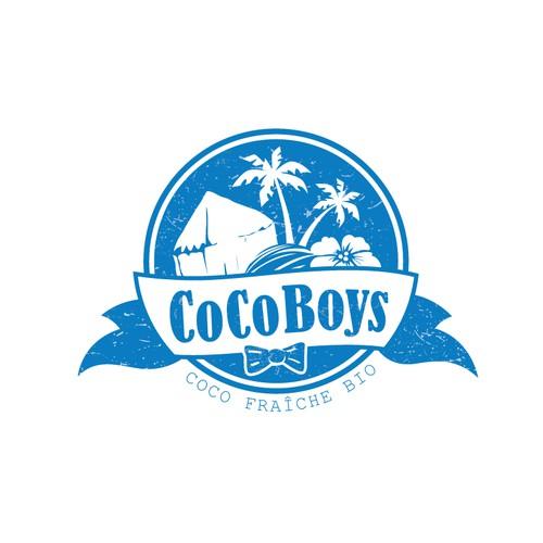 winner design for fresh coconut importing company