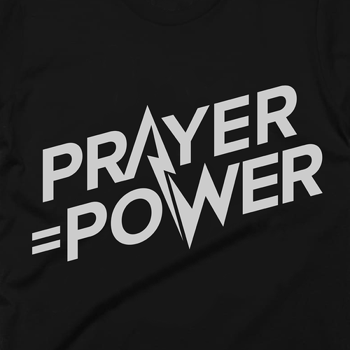 Trendy christian tshirt design