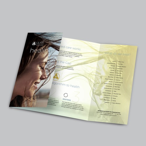 The Movement trifold brochure