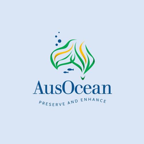 AusOcean Logos