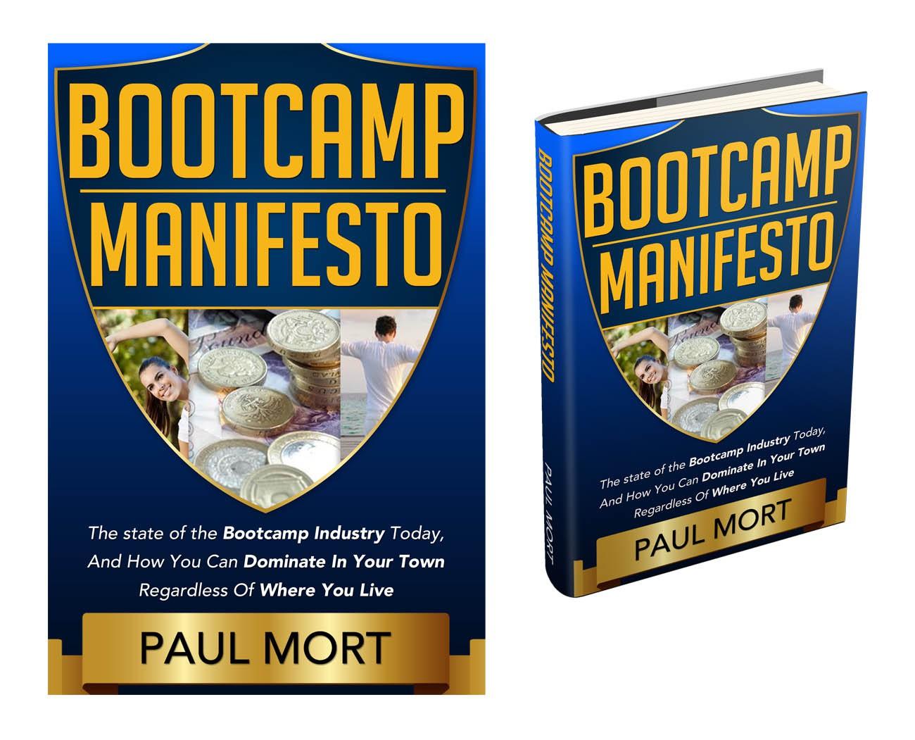 Create the next book or magazine cover for Bootcampking.com