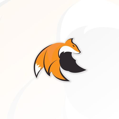 Unused Flying Fox Logo Design