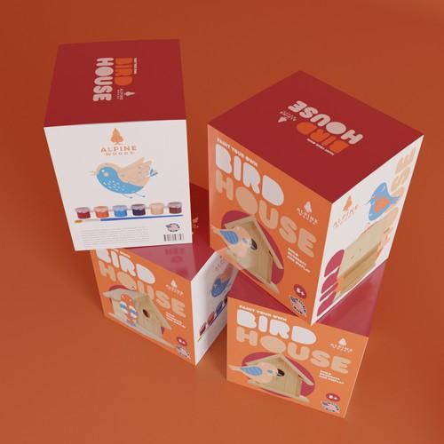 Toy Box Bird House
