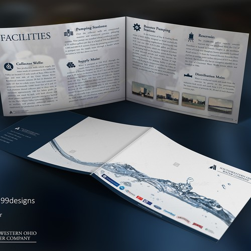 Create a company brochure targeting factories and manufacturers