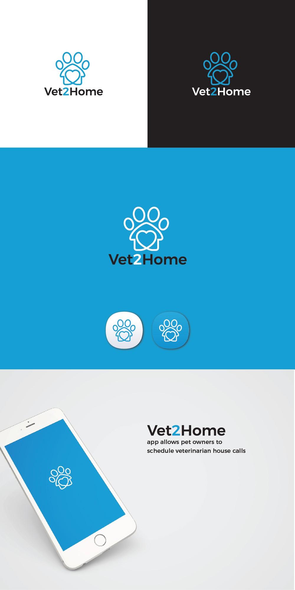 Home visit veterinary company needs a crisp/clean logo