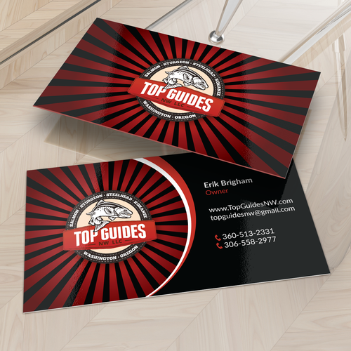 Top Guide business card