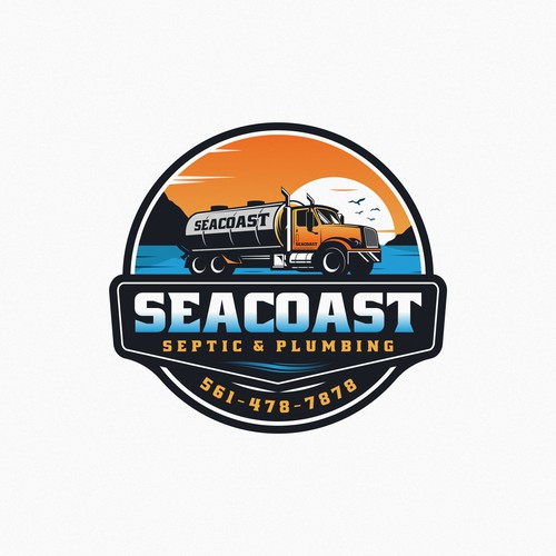SEATCOAST Septic & Plumbing logo