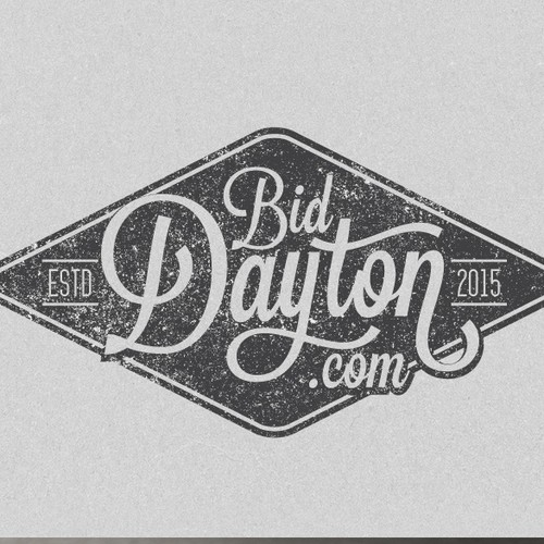 Create a vintage/nostalgic looking logo for a online auction site where we liquidate returned assets