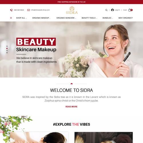 eCommerce website Mockup Design