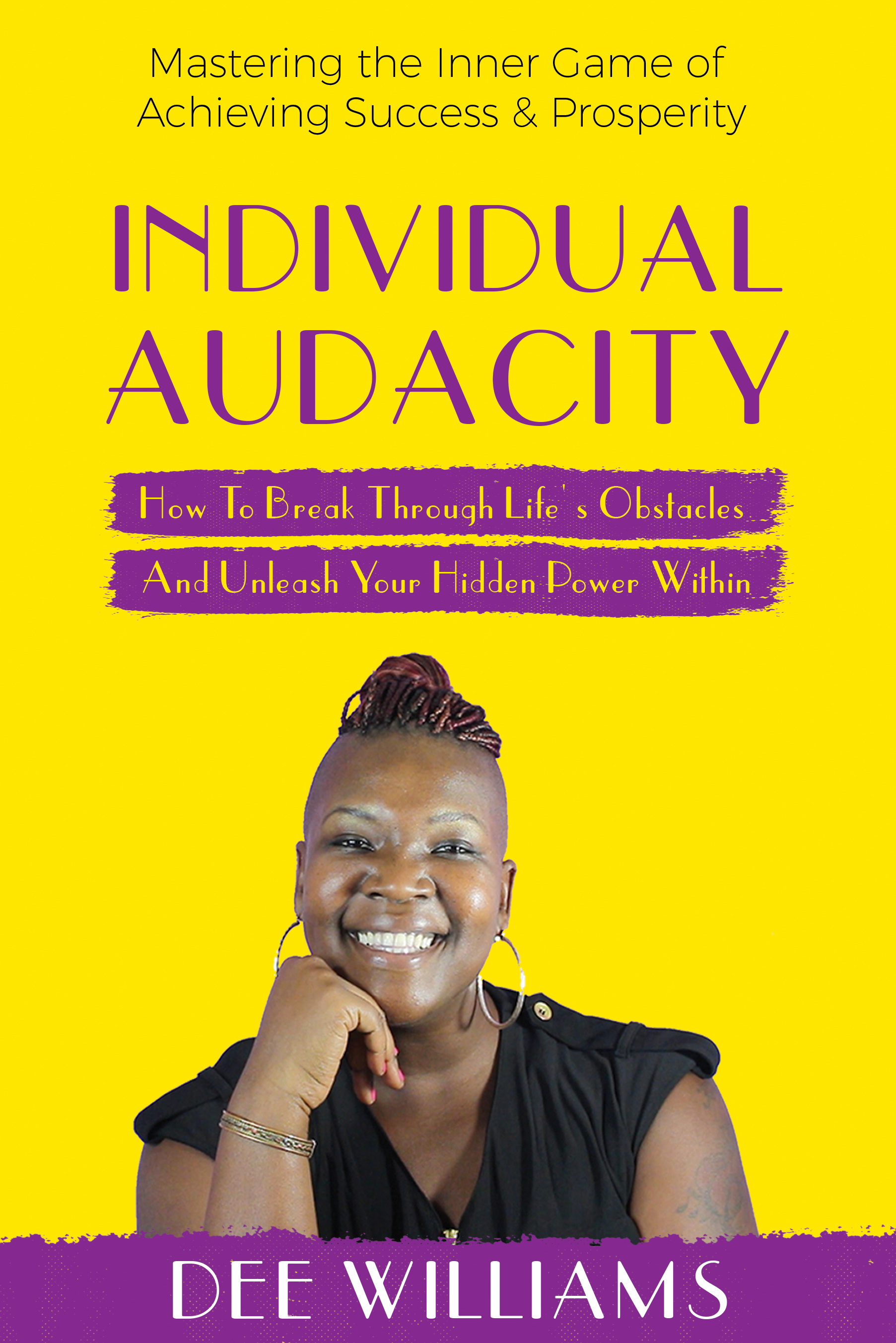 Individual Audacity is the title of my book...I need help with the design please