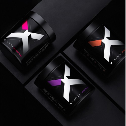 X-Arch Product Label & Visual