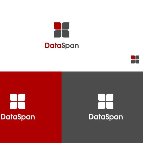 Modernizing the technology related logo for DataSpan