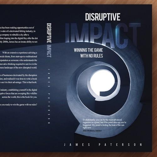 Bold Non Fiction Book Cover Design