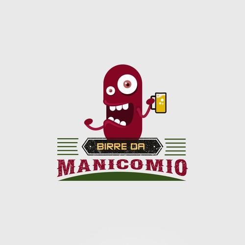Logo Design for Birre da Manicomio