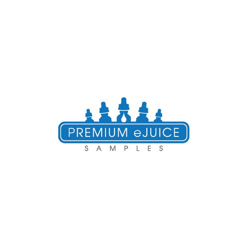 Create a recognizable logo for Premium eJuice Samples