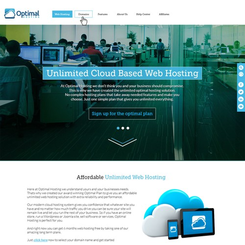 Guaranteed - cloud hosting website