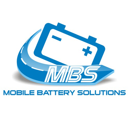 create a logo that depicts a high tech, convenient solution when you have a battery failure