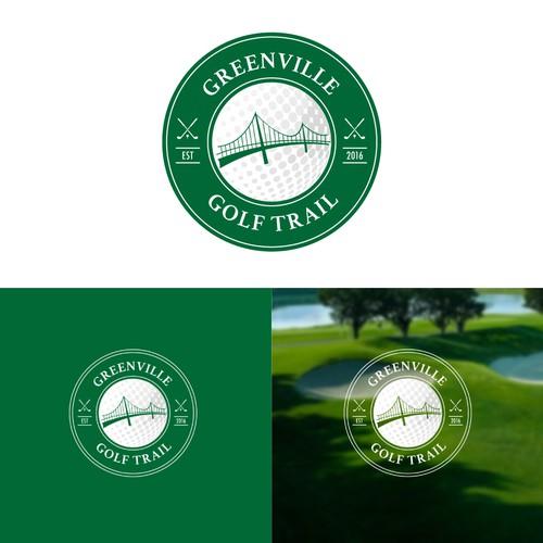 Logo Design for Greenville Golf Trail