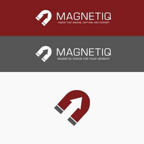 Logo concept for magnetiq marketing