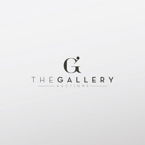 "Logo proposal for ""The Gallery Auctions"""