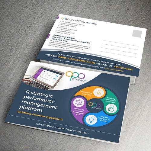 Postcard for HR Software tool