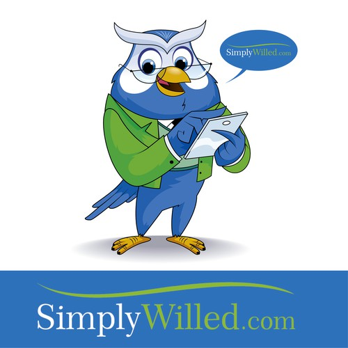 SimplyWilled mascot design