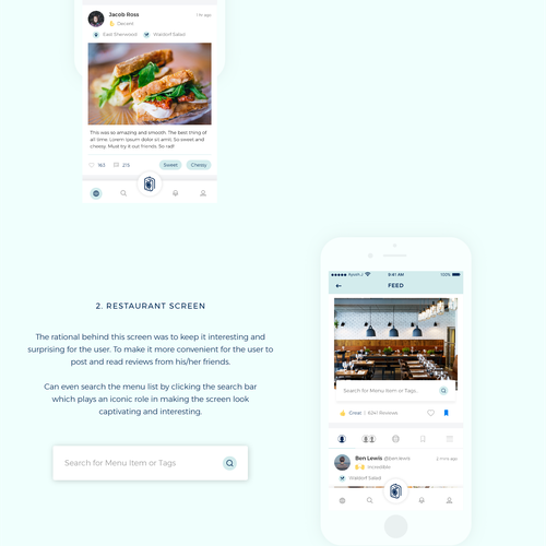 Dinary Food App