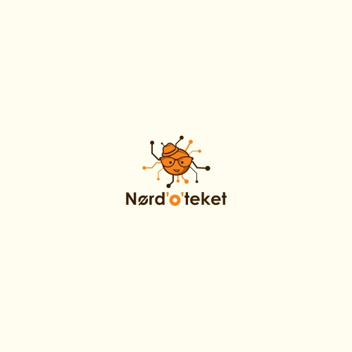 Help a Geek: Logo/identity, that indicates tech/electronics and humour.
