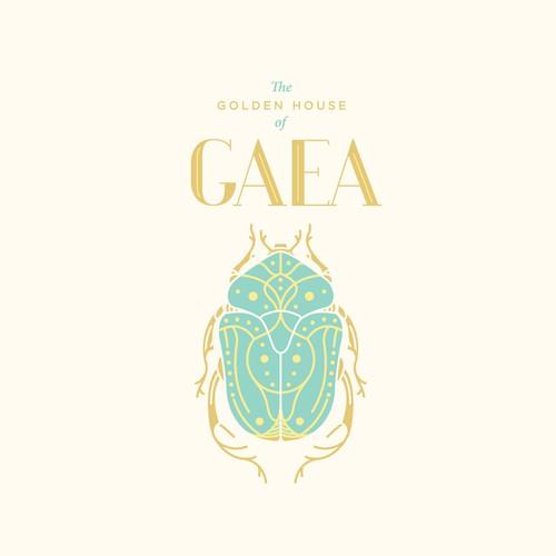 Fashion brand logo GAEA