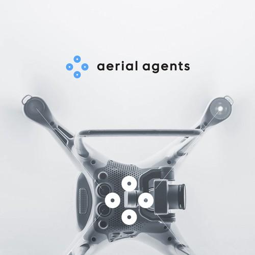 Minimal Logo for Drone Company